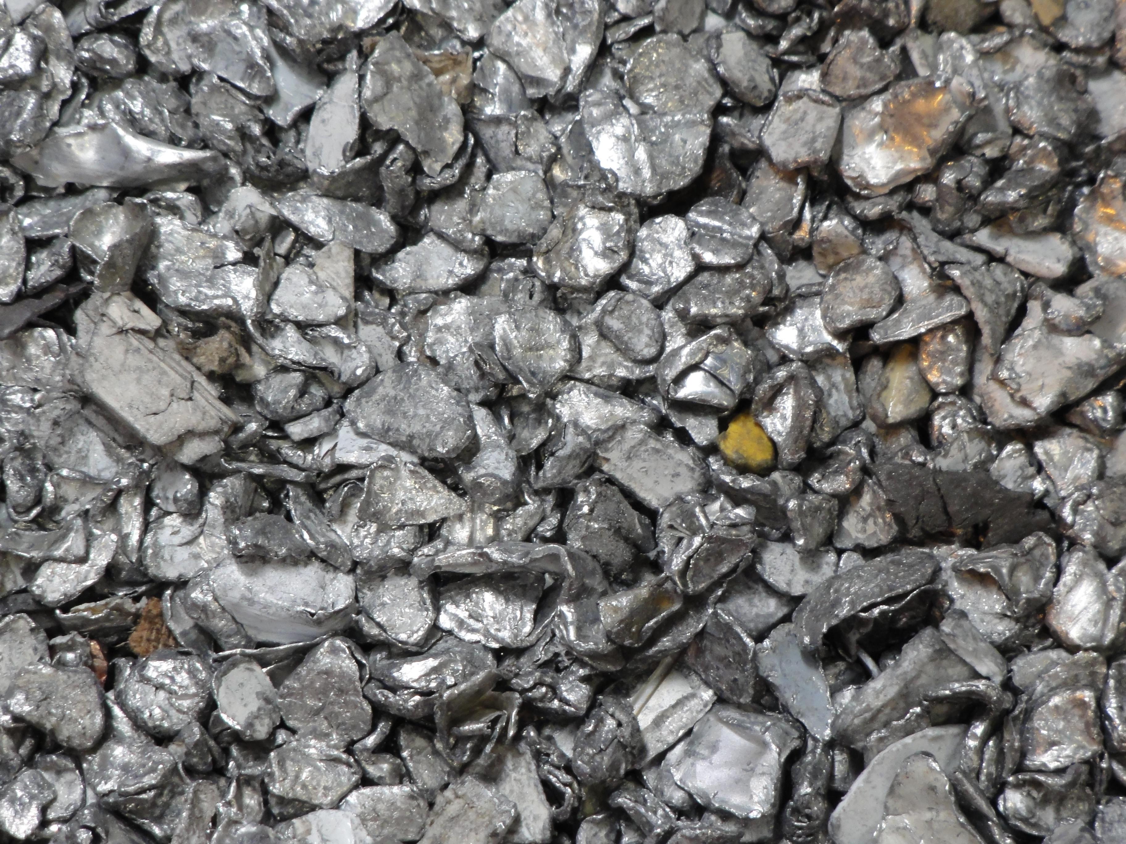 Non Ferrous metals unpure