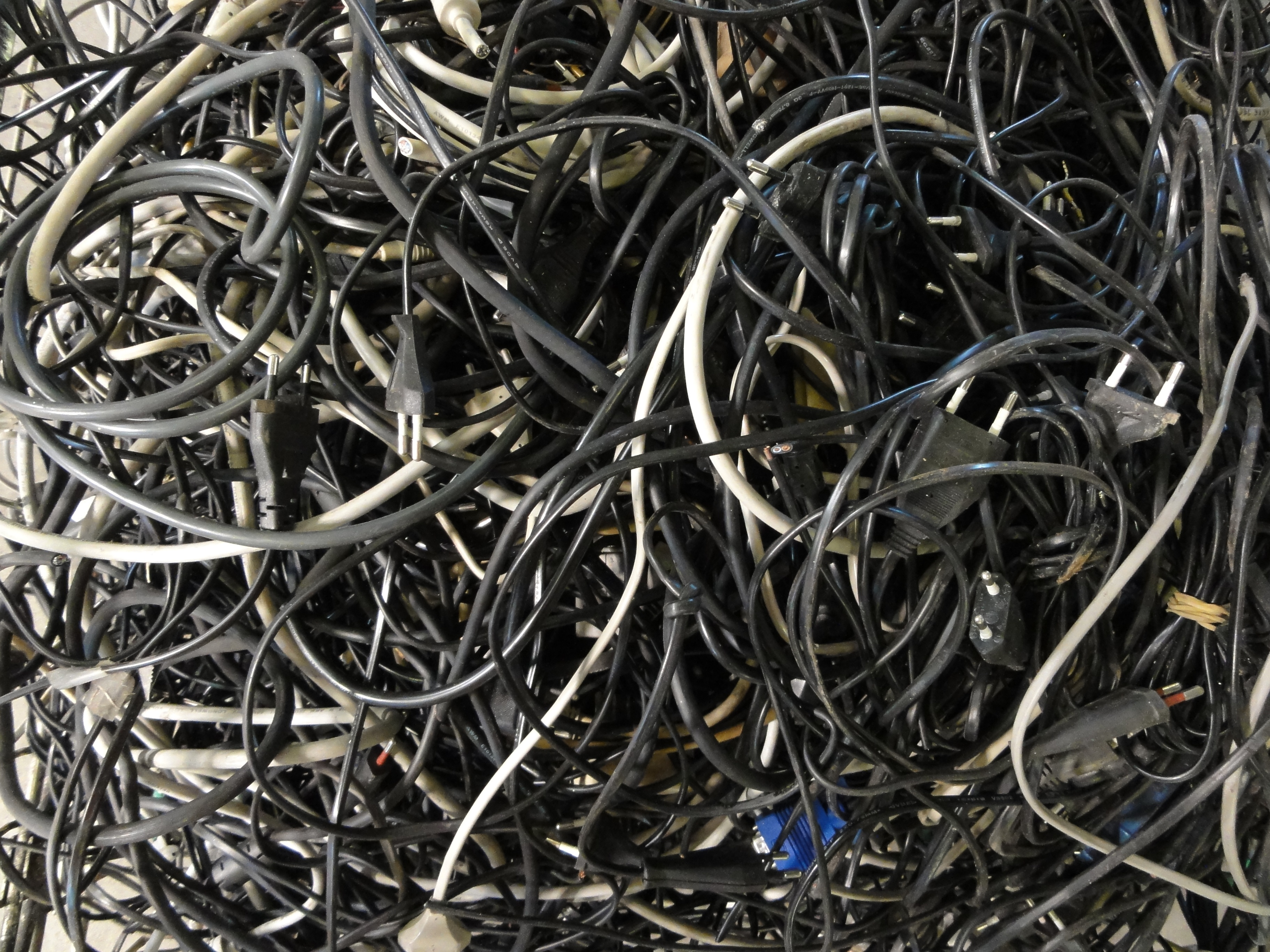 Cables sorting